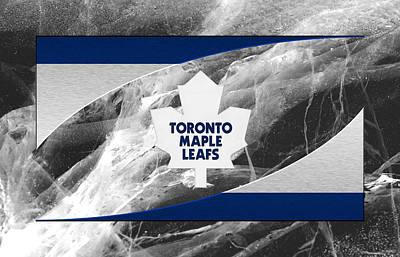 Toronto Maple Leafs Art Print by Joe Hamilton