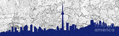 Photograph - Toronto Skyline by Les Palenik