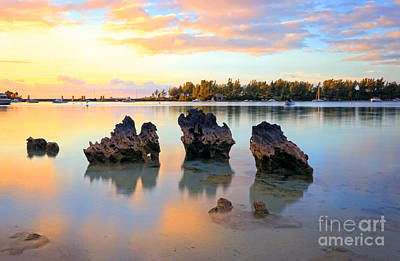 Photograph - Tranquil Beach by Charline Xia