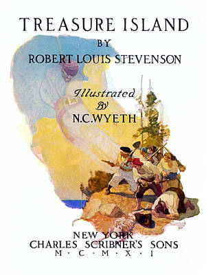 Novel Photograph - Treasure Island, 1911 by Granger