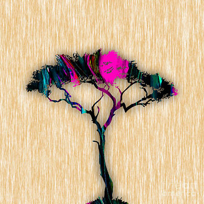 Tree Art Print by Marvin Blaine