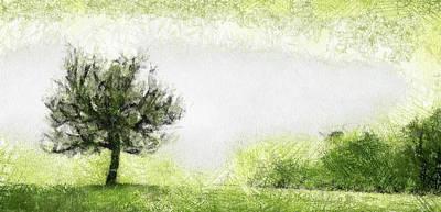 Tree Art Print by Odon Czintos