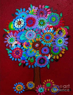 Comfort Painting - Tree Of Hope by Pristine Cartera Turkus