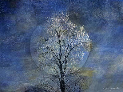 Digital Art - Tree Of Ice by J Larry Walker