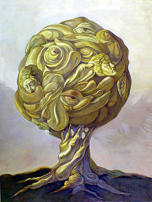 Painting - Tree Of Knowledge by Filip Mihail