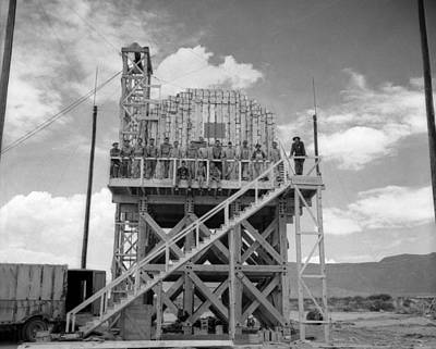 Photograph - Trinity Test Site, Manhattan Project by Science Source