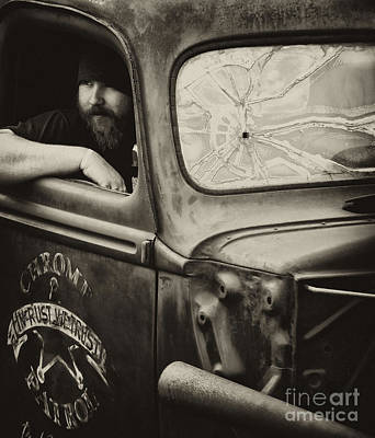 Photograph - Trucks And Tennessee Country Boys by Wilma  Birdwell