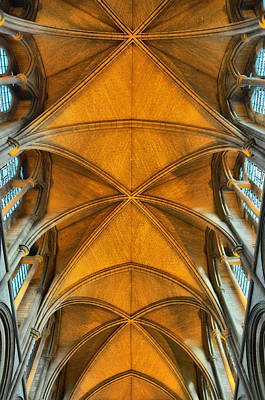 Photograph - Truro Cathederal Cornwall by Ian Cocklin