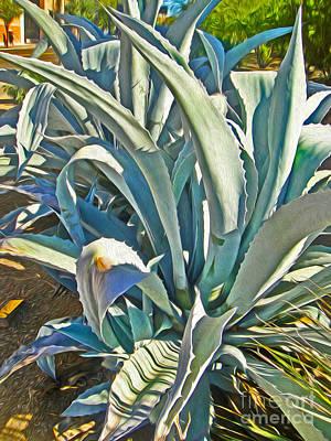 Tucson Arizona Cactus Art Print by Gregory Dyer