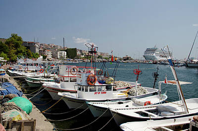 Cruise Liner Photograph - Turkey, Historic Region Of Paphlagonia by Cindy Miller Hopkins