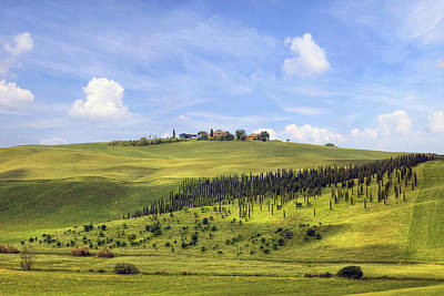 Winery Photograph - Tuscany - Montalcino by Joana Kruse