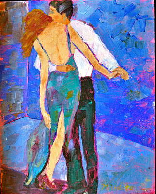Painting - Two To Tango by MaryAnne Ardito
