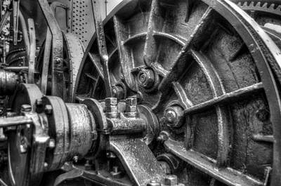 Photograph - Tyee Steam Donkey by R J Ruppenthal