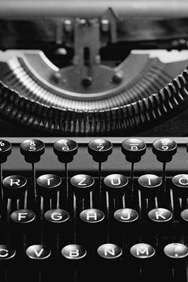 Tastatur Photograph - Typewriter by Falko Follert