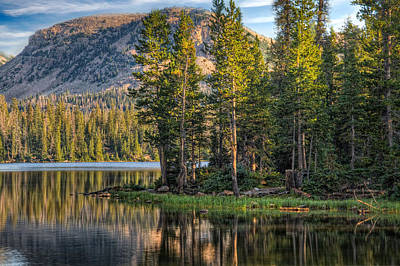 Photograph - Uinta Mountains Utah by Utah Images