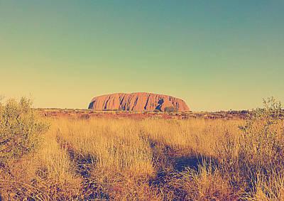 Uluru Art Print by Girish J
