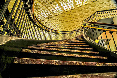 Photograph - Union Station Washington Dc by Alex Grichenko