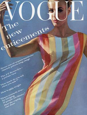 Deborah Photograph - Vogue July 1st, 1961 by Bert Stern
