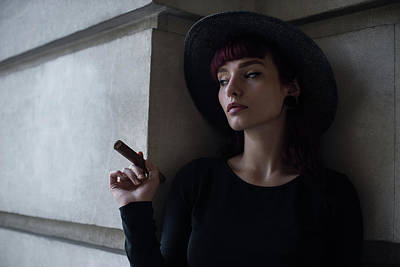 Smokers Photograph - Untitled by Bobby Kostadinov