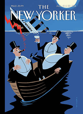 New Yorker August 15th, 2011 Art Print by Christoph Niemann