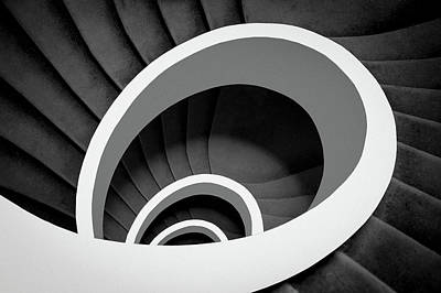 Spiral Wall Art - Photograph - Untitled by Inge Schuster