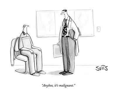 Seat Drawing - Anyhoo, It's Malignant by Julia Suits