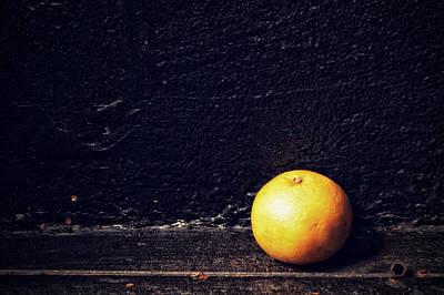 Photograph - A Clockwork Grapefruit by Mirian Hubbard