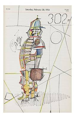 Baseball Drawings Drawing - New Yorker October 24th, 2005 by Saul Steinberg