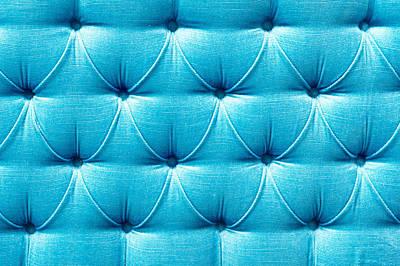Upholstery Background Art Print