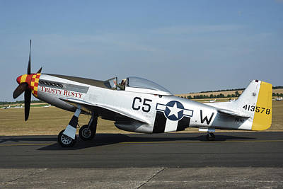 Photograph - U.s. Army Air Force P-51d Mustang by Riccardo Niccoli