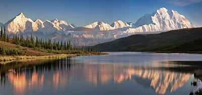 Denali National Park Photograph - Usa, Alaska, Denali, Mt by John Ford