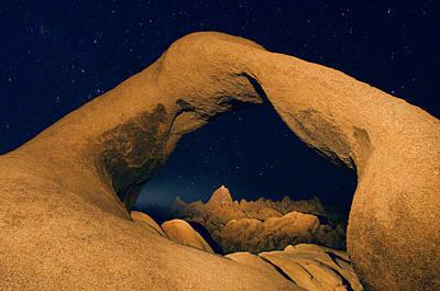 Mobius Photograph - Usa, California, Alabama Hills by Jaynes Gallery