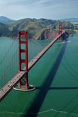 Usa, California, San Francisco, Golden Art Print
