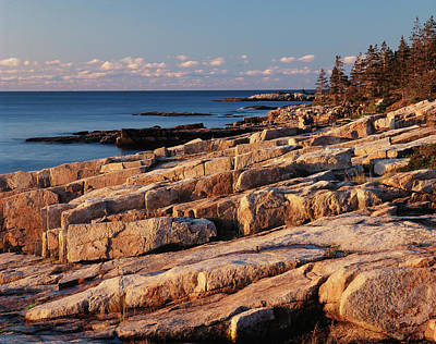 Usa, Maine, Acadia National Park, Mt Print by Adam Jones