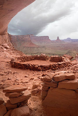 Kiva Photograph - Usa, Utah, Canyonlands National Park by Jaynes Gallery