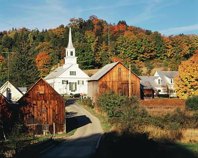 Usa, Vermont, Northeast Kingdom, Waits Art Print by Walter Bibikow