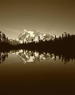 Large Format Photograph - Usa, Washington State, North Cascades by Adam Jones