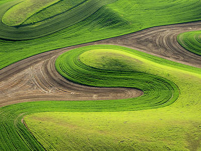 Julie Photograph - Usa, Washington State, Whitman County by Julie Eggers
