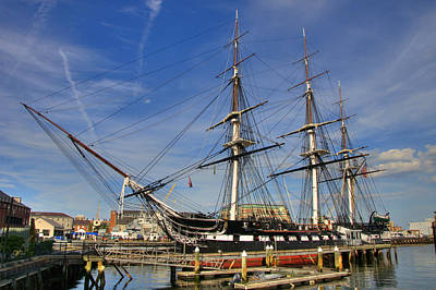 Uss Constitution Art Print by Joann Vitali