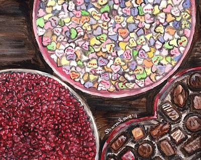 Painting - Valentines Day Candy by Shana Rowe Jackson