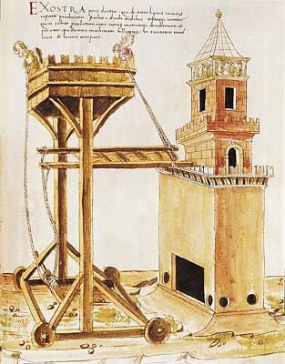 Roberto Photograph - Valturio, Roberto 1405-1475. De Re by Everett