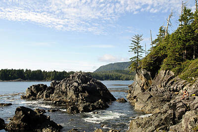 Vancouver Island, Clayoquot Sound Art Print by Matt Freedman