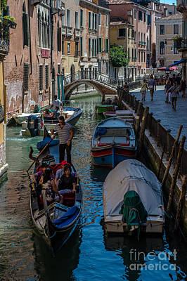 Photograph - Venezia by Jorgen Norgaard