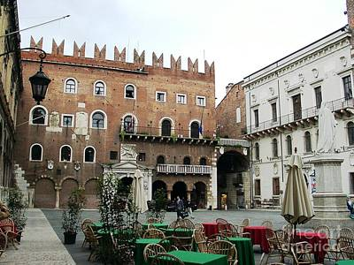 Verona Piazza Art Print