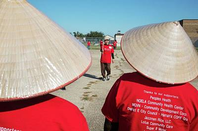 Vietnamese Photograph - Viet Senior Olympics by Jim West