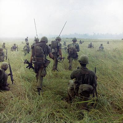 101st Photograph - Vietnam War, 1966 by Granger