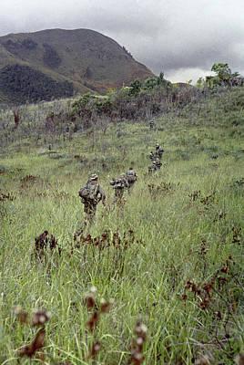 Recon Photograph - Vietnam War, 1967 by Granger