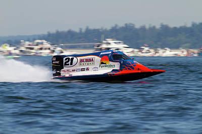 Formula One Photograph - Wa, Seattle, Seafair, Formula One (f1 by Jamie and Judy Wild