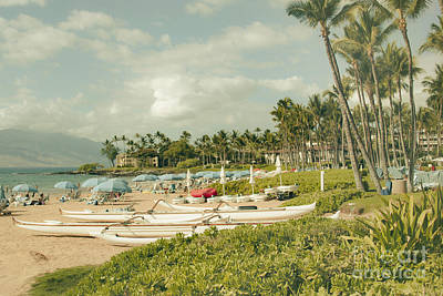 Wailea Beach Maui Hawaii Art Print