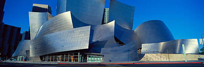 Walt Disney Concert Hall Photograph - Walt Disney Concert Hall, Los Angeles by Panoramic Images